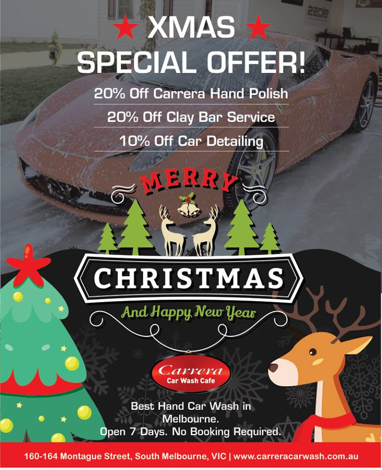 Blog | Carrera Car Wash Cafe